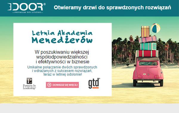 Event Letnia Akademia Menedżerów