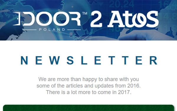 Newsletter DOOR 2 ATOS