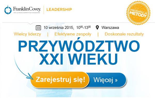 Event Przywództwo XXI wieku
